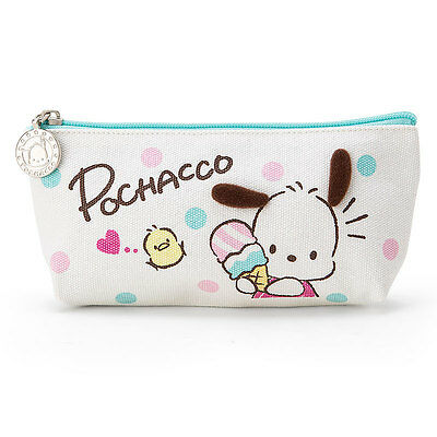 Sanrio Pochacco canvas pen pouch (ice)