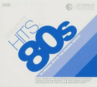 Greatest Hits Of The 80's -  CD JGVG The Cheap Fast Free Post The Cheap Fast