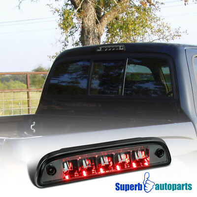 for 95-17 Toyota Tacoma Tail Rear Third 3rd Brake LED Lamp Light Assembly Smoke