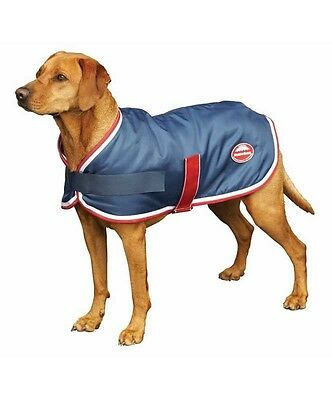 SALE!!! Weatherbeeta Parka 600D Dog Coat  Waterproof Strong Outer Navy/Red/White