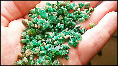 EMERALD 1LB ZAMBIAN ROUGH ASSORTED NaTuRaL Untreated PARCEL IV