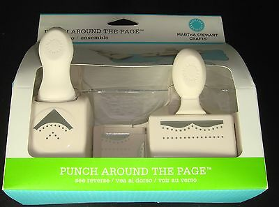Martha Stewart Punch Around the Page Cherish Set Scrapbook Paper Craft
