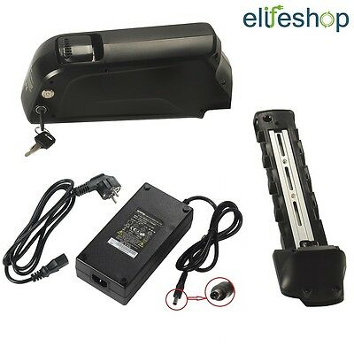 USB Lithium-ion Battery Black  48v11.6ah Electric Bike Lithium Battery+Charger