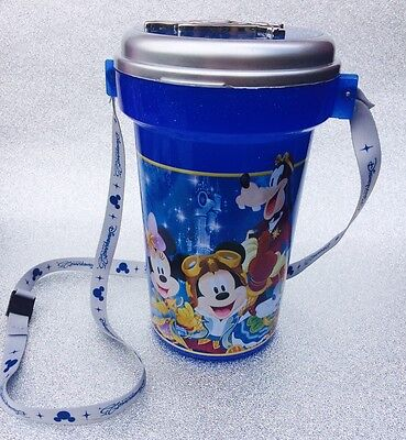 Disneyland Paris 25 Years Of Stars Large Plastic Container With Strap