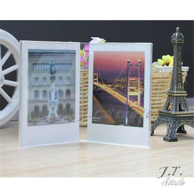 3pcs Instant Picture Photo Frame Crystal Clear For Polaroid Fujifilm Instax Film
