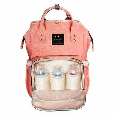 5 Colors Mummy Maternity Diaper Nappy Bag Large Capacity Baby Travel Backpack