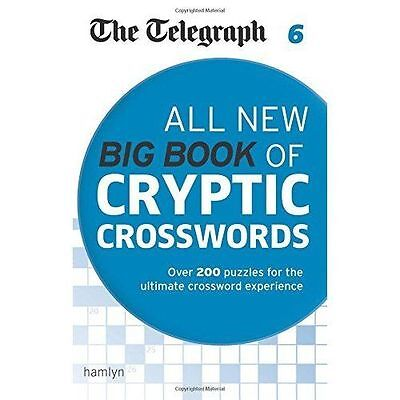 The Telegraph: All New Big Book of Cryptic Crosswords 6 (The Telegraph Puzzle Bo