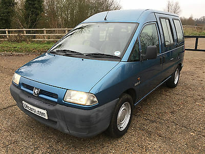 peugeot expert 1.9 turbo diesel wheel chair accessible mobility vehicle