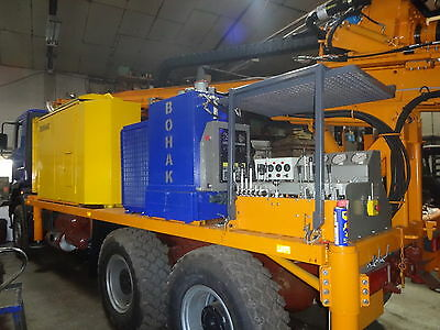 Brunnenbohrgerät, Rotary Drilling Rig Water well, Bohak KL 400, Foreuse,Forage,