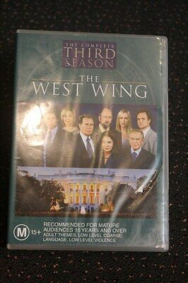 The West Wing 'The Complete Third 3 Season  - 6 DVD Disc Set, Used