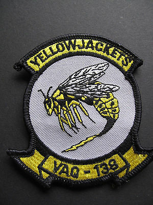 Usaf Patch Yellow Jackets Vaq-138  Air Force Squadron Patch
