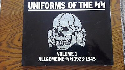 USED (VG) Uniforms of the SS: Vol 1 Allgemeine-SS 1923-1945 by Andrew Mollo
