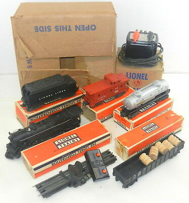 Lionel Postwar Outfit #1485WS 2025 Loco w/ Whistle & Smoke ~ Boxed, Complete
