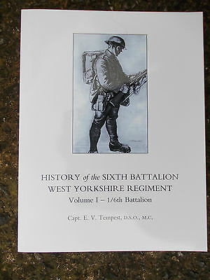 History of the 6th Battalion West Yorkshire Regiment, Vol ! - 1/6th Battalion