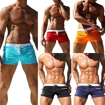 Men's Swimsuits Surf Board Beach Wear Swim Trunks Boxer Shorts Swimwear