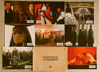 2001 THE EMPEROR AND THE ASSASSIN Gong Li Chen Kaige French Lobby Cards