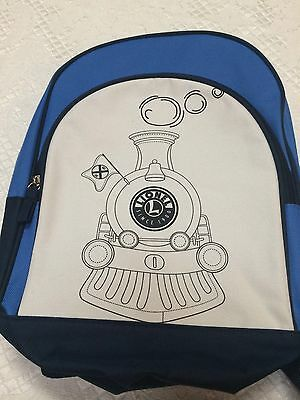 Lionel Train Backpack Youth Size