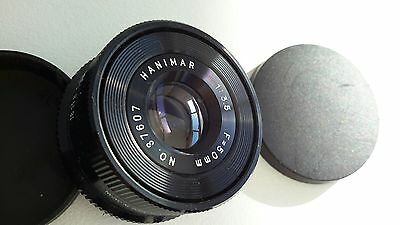 HANIMAR  50mm enlarger lens..Excellent