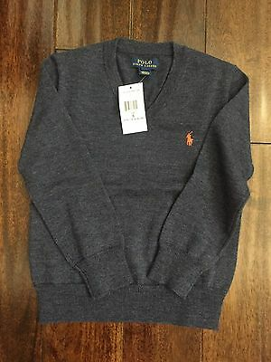Ralph Lauren Polo Boys Sweater Size 5 NWT