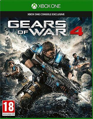 Gears Of War 4 Microsoft Xbox One Game New and Sealed