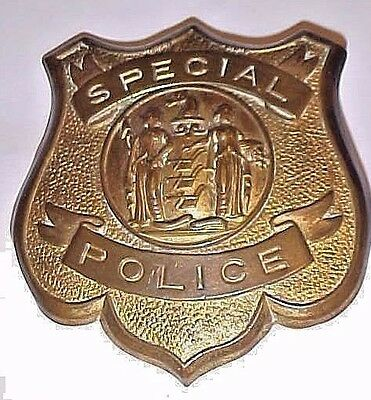 Old Obsolete Badge New Jersey Special  Police  Circa 1930's
