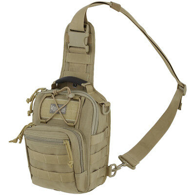 Maxpedition Remora Gearslinger Urban Ccw Shoulder Bag Molle Ewc Sling Pack Khaki