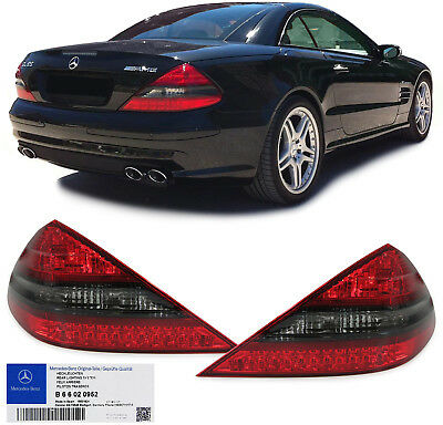 Original AMG Facelift LED Rückleuchten B66020952 für Mercedes SL R230 01-11