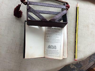 Miniature Books Of Common Prayer And Hymns A&M In Leather Carry Case