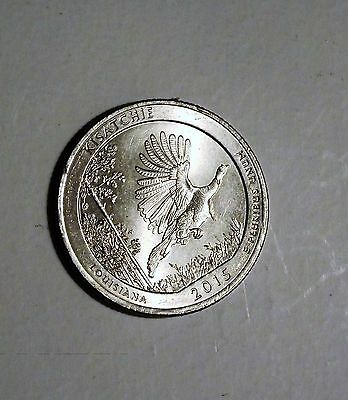 2015-P Louisiana Kisatchie Quarter Eror On Wing Rv