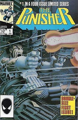 THE PUNISHER - 1 to 5. Mini series 1986. Mike Zeck art. NM+ Investment Grades.