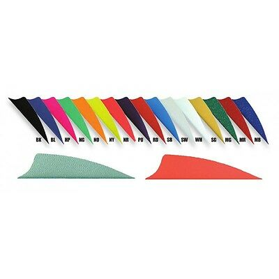 "BOHNING X-VANES Shield 2.25"" Archery Plastic Vanes - Variety Of Colours (QTY12)"