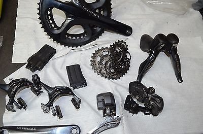 Shimano Ultegra 10 Speed 6770 Di2 group Shifters Front Rear Derailleur Brakes