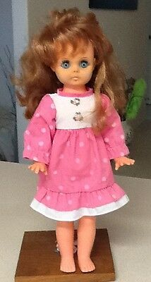 Vintage Regal Hard Plastic Doll - Canada - 1960's?