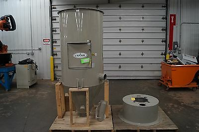Conair Insulated Material Drying Hopper CH33-28 1000lb Capacity 28 Cubic Feet