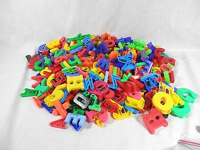 Lot of 300+ Magnetic Letters Numbers Alphabet ABC's