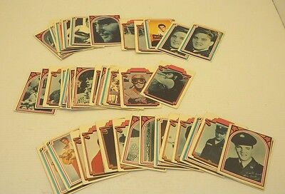 Vintage 1978 Elvis Trading Collector Cards Boxcar Enterprises (Mixed Lot Of 46)