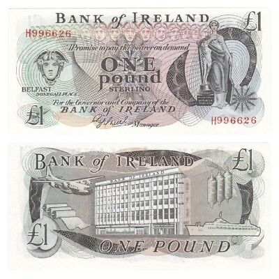 Bank of Ireland £1 Note - BYB ref: NI.205 - UNC.
