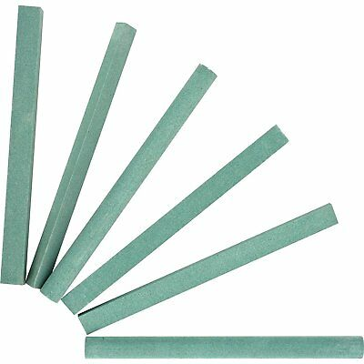 "4"" Sharpening Stone Sticks Set 6 Shaped Pieces Silicon Carbide"