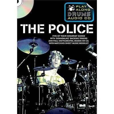 Play Along Drums Audio CD: The Police Schlagzeug CD, Notenbuch