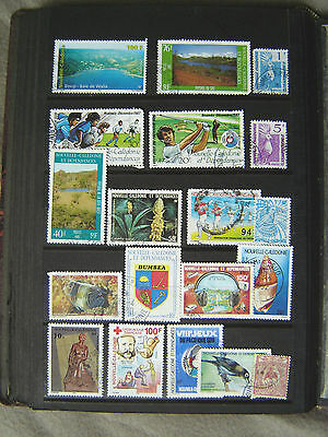 Ad 375 //  LOT TIMBRES OBLITERES *NOUVELLE-CALEDONIE