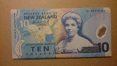 New Zealand FIRST YEAR 1999 10 Dollars Brash 186a Duck Polymer GEM UNC