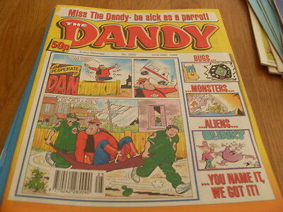 The Dandy Comic Issue 3005 June 26Th 1999