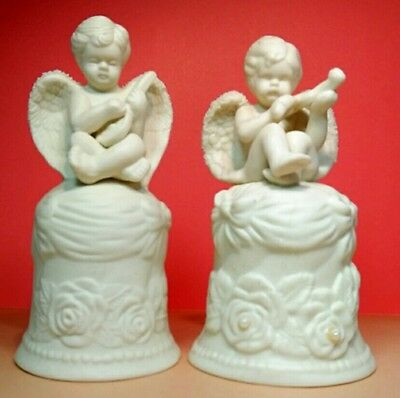Vintage Angel Boy set of 2  Collectable Decorative Bell. • $9.99