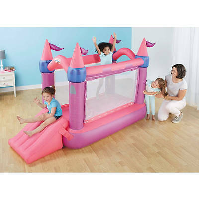 Little Tikes Princess Bouncer Indoor Inflatable Bounce House New Open Box