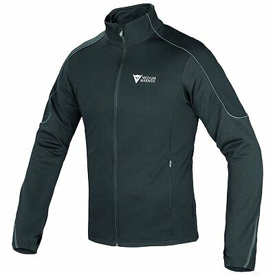 Dainese D-Mantle Mens Fleece Base Layer Jacket  Black/Anthracite LG