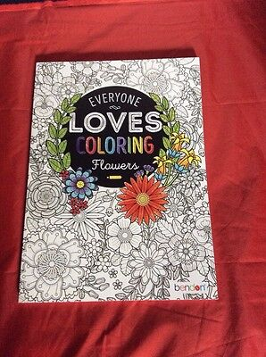 Everyone Loves Coloring Flowers By Bendon Crafts Art Supplies