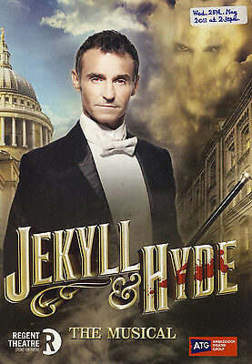 JEKYLL & HYDE The Musical MARTI PELLOW 2011 Regent Theatre Programme refb1305