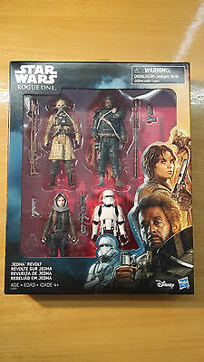 STAR WARS Rogue One JEDHA REVOLT Hasbro TWO TUBES HOVERTANK PILOT - NEU OVP MISB