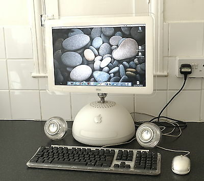"Apple iMac G4 Desktop 17"" 2003 Computer - Awesome Retro PC"