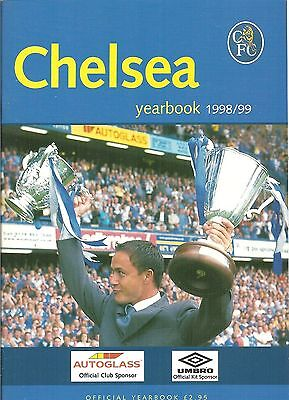 Chelsea FC Football Club Official Annual Yearbook 1998-99 Season